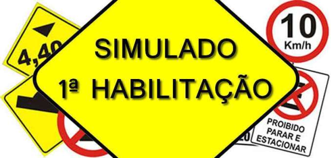 Simulado DETRAN Vicentinópolis